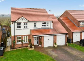 Thumbnail 4 bed detached house for sale in Fieldside Court, Tadcaster, North Yorkshire