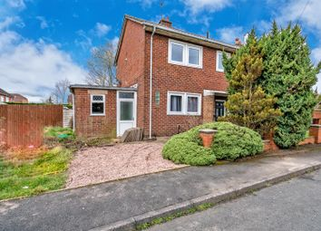 Thumbnail 3 bedroom semi-detached house for sale in Croxdene Avenue, Bloxwich, Walsall