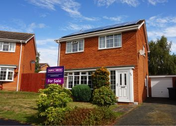 Thumbnail 3 bed detached house for sale in Bridge Way, Shawbury, Shrewsbury
