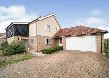 Thumbnail 4 bed detached house for sale in Street Farm Close, Holywell Row, Bury St. Edmunds