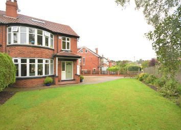 Thumbnail 4 bed semi-detached house for sale in Kingswood Gardens, Roundhay, Leeds