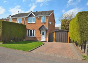 Thumbnail 3 bed semi-detached house for sale in Bosworth Way, Long Eaton, Nottingham