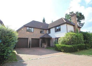 Thumbnail 5 bedroom detached house for sale in Cambrian Close, Camberley, Surrey