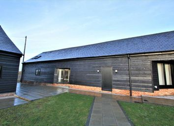 Thumbnail 4 bed barn conversion to rent in Home Farm Barns, The Street, Stradishall