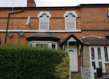 Thumbnail 3 bed terraced house for sale in South Road, Erdington, Birmingham