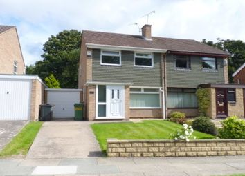 Thumbnail 3 bed semi-detached house to rent in Brookhurst Avenue, Bromborough, Wirral