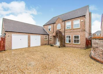 Thumbnail 4 bed detached house for sale in Merend Close, Sandtoft, Doncaster, Lincolnshire
