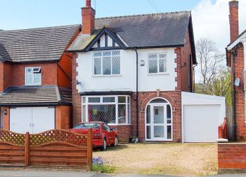 Thumbnail 3 bed detached house for sale in Birmingham Road, Redditch, Worcestershire