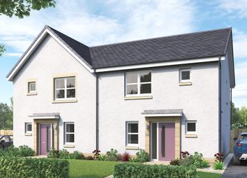 "Thumbnail 3 bed semi-detached house for sale in ""The Hamilton"" at Mauricewood Road, Penicuik"