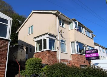 Thumbnail 3 bed semi-detached house for sale in Occombe Valley Road, Paignton