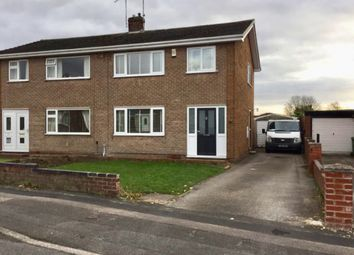 Thumbnail 3 bed semi-detached house for sale in Bracebridge Avenue, Worksop
