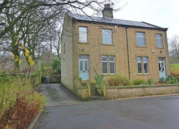 Thumbnail 3 bedroom semi-detached house for sale in Holme Mill Cottages, West Slaithwaite Road, Huddersfield