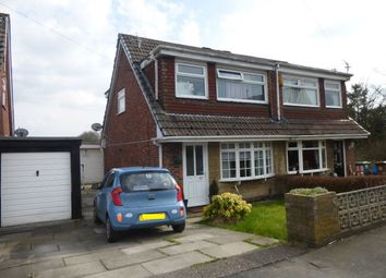Thumbnail 3 bed semi-detached house to rent in Canon Wilson Close, Haydock, St Helens
