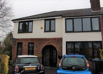 Thumbnail 5 bed semi-detached house to rent in Beatrice Avenue, Cheadle Hulme, Cheadle
