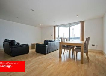 Thumbnail 2 bedroom flat to rent in Newton Place, Nova Building, Canary Wharf
