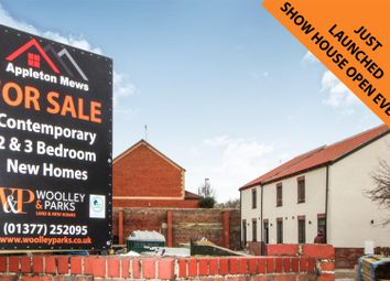 Thumbnail 2 bed terraced house for sale in Plot 2, Appleton Mews, Riverhead, Driffield