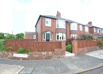 Thumbnail 3 bed semi-detached house for sale in Kirkstone Gardens, High Heaton, Newcastle Upon Tyne