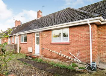 Thumbnail 3 bed terraced bungalow for sale in Yelverton Close, Hellesdon, Norwich