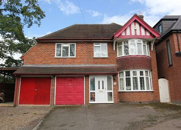Thumbnail 5 bed detached house for sale in Uppingham Road, Leicester, Leicestershire