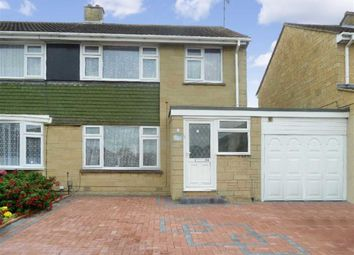 Thumbnail 3 bed semi-detached house to rent in Nyland Road, Swindon, Wiltshire