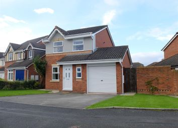 Thumbnail 3 bed detached house for sale in Walkmill Crescent, Carlisle