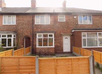 Thumbnail 3 bedroom terraced house for sale in Rivington Crescent, Birmingham