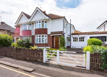 Thumbnail 3 bed semi-detached house for sale in Riverside Close, Kingston Upon Thames