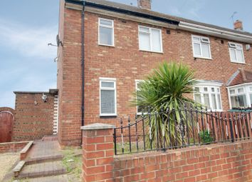 Thumbnail 2 bed semi-detached house for sale in Thackeray Road, Sunderland, Tyne And Wear