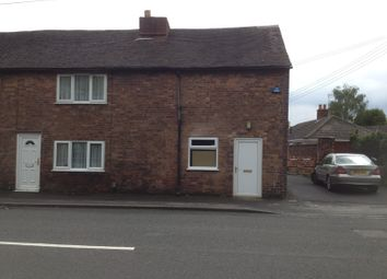 Thumbnail 2 bed end terrace house to rent in Lichfield Street, Tamworth