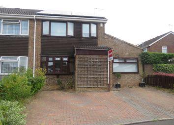 Thumbnail 4 bed semi-detached house for sale in Obelisk Rise, Kingsthorpe, Northampton