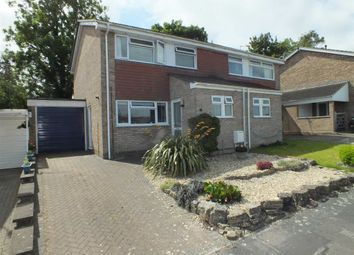 Thumbnail 3 bed semi-detached house for sale in Leighton Park Road, Westbury, Wiltshire
