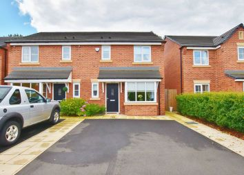 Thumbnail 3 bedroom semi-detached house for sale in Chesterfield Close, Eccles, Manchester