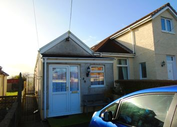 Thumbnail 1 bed semi-detached bungalow for sale in Penllwyngwyn Riad, Bryn, Llanelli, Carmarthenshire, Bryn, Llanelli, Carmarthenshire, West Wales