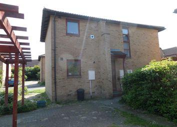 Thumbnail 1 bedroom maisonette to rent in Hambleton Grove, Emerson Valley, Milton Keynes