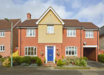 Thumbnail 5 bedroom detached house for sale in Alderton Close, Haverhill, Suffolk