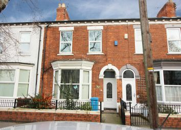 Thumbnail 3 bed terraced house for sale in De La Pole Avenue, Hull, Hull, 0