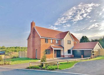 Thumbnail 5 bed detached house for sale in Mill Farm Place, Belstead, Ipswich
