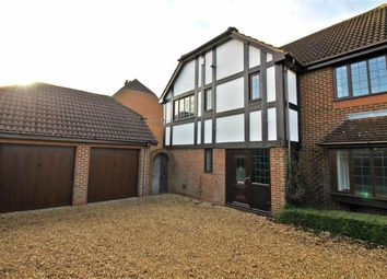 Thumbnail 4 bed detached house to rent in Davenport Lea, Old Farm Park, Milton Keyens