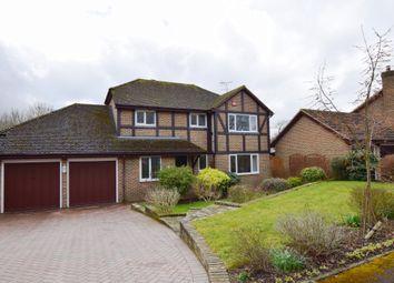 Thumbnail 4 bed detached house for sale in Daphne Drive, Church Crookham, Fleet