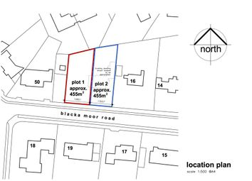 Thumbnail Land for sale in Plot 2, 18 Blacka Moor Road, Dore, Sheffield