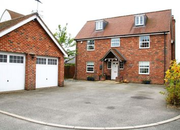 Thumbnail 5 bed detached house for sale in Ladbrook Close, Elmsett, Suffolk