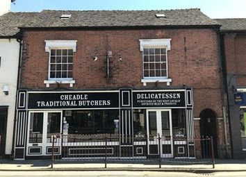 Thumbnail Commercial property for sale in 23 High Street, Cheadle, Staffordshire
