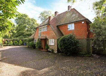 Thumbnail 4 bed detached house for sale in Rowhills, Farnham, Surrey
