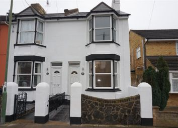 Thumbnail 3 bedroom semi-detached house to rent in Church Road, Swanscombe, Kent