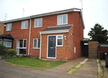 Thumbnail 3 bedroom semi-detached house for sale in Fallow Walk, Kingsthorpe, Northampton