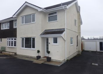 Thumbnail 3 bed semi-detached house for sale in Erw Non, Llannon, Llanelli
