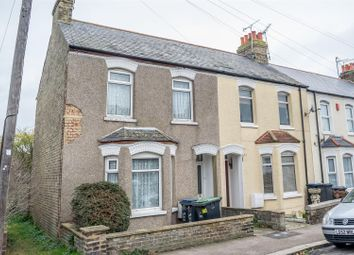 Thumbnail 2 bed end terrace house for sale in Richborough Road, Westgate-On-Sea