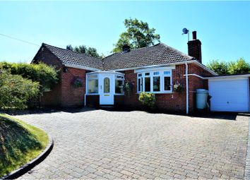 Thumbnail 3 bed detached bungalow for sale in Marlston Road, Hermitage