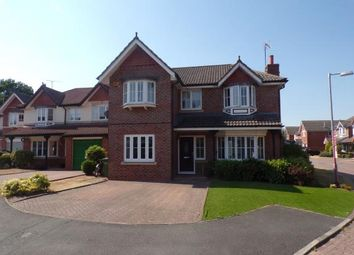 Thumbnail 5 bed detached house for sale in Sandington Drive, Cuddington, Northwich, Cheshire