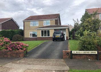 Thumbnail 4 bed detached house for sale in Rhyd-Y-Defaid Drive, Sketty, Swansea